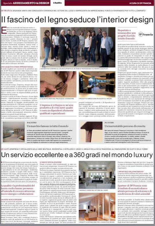 Editoriale de La Repubblica